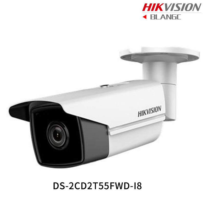 Hikvision English Security Camera DS 2CD2T55FWD I8 5MP H 265 Bullet CCTV Camera WDR IP Camera