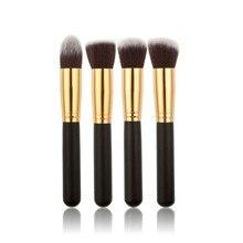 10pcs/set High Quality Makeup Brushes Beauty Cosmetics Foundation Blending Blush Make up Brush tool Kit