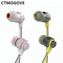 CTMOGOVE Высокое качество 3,5 мм проводные наушники и наушники rohs для сотового телефона Бесплатная доставка