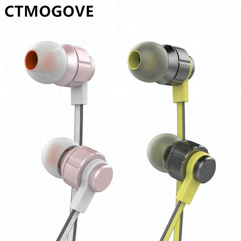 CTMOGOVE alta calidad 3,5mm auriculares y auriculares rohs para el teléfono celular del envío gratis
