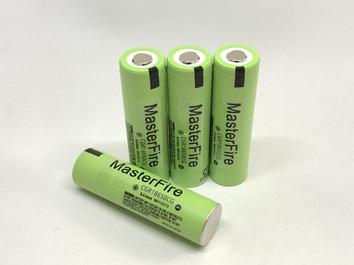 MasterFire 8pcs lot New Original CGR18650CG 18650 3 7V 2250mAh Rechargeable Battery Lithium Batteries For Panasonic in Rechargeable Batteries from Consumer Electronics