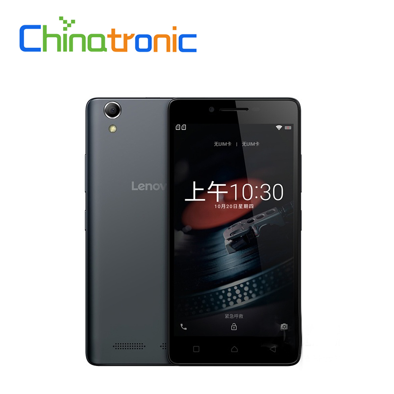 Original New Lenovo K10e70 4G FDD LTE Android 6.0 Mobile Phone Snapdragon210 Quad-core Dual SIM 5.0HD 1G2G RAM 8G16G ROM 8MP