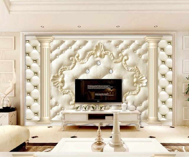 € 9.73 43% de réduction|ShineHome rouleau souple fond classique 3D papier  peint chambre bébé papier peint Photo papier peint pour mur 3 d hôtel ...