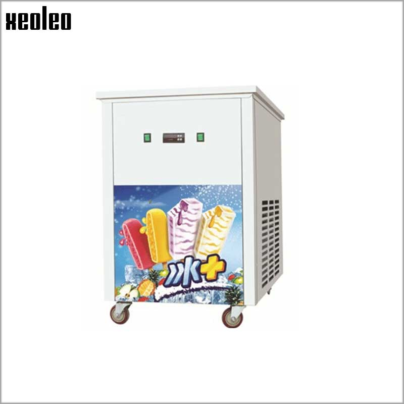 Xeoleo Commercial Ice Lolly Makers 100-120pc/h Could Make 40pc/Set Small Ice Lolly Make Machine Popsicle Machine Popsicle Maker edtid new high quality small commercial ice machine household ice machine tea milk shop