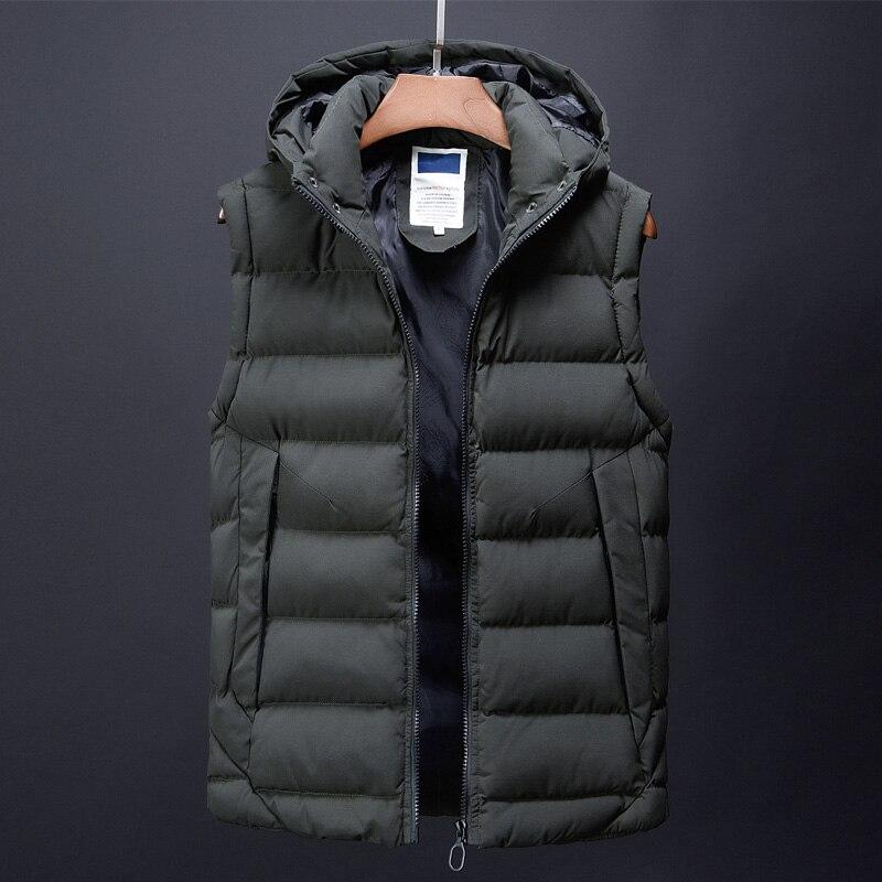 canada fashion vest men casual mens down jacket korean streetwear clothing overcoat dress male trench autumn winter coat for men (3)