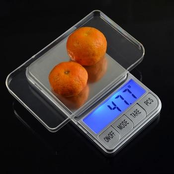 Báscula Digital portátil de 200g x 0,01g, báscula electrónica LCD, balanza electrónica...