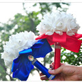 9 Colors Beautiful Artificial Royal Blue Wedding Bouquet 2016 Mint Green Bridesmaid Bridal Bouquets White Buque De Casamento
