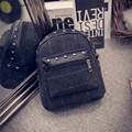 New Autumn and Winter Women Backpack Leisure Style Woolen Rivet Fashion Women Small Bagckpack HBE78