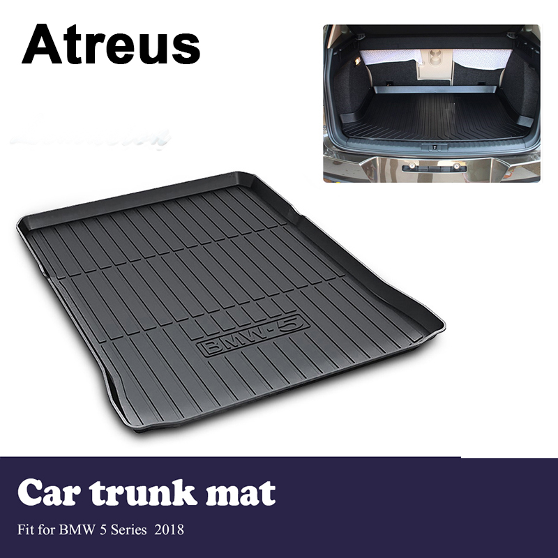 Atreus Car Trunk Cargo Floor Liner Tray Mat Cover Protection Blanket For BMW 5 Series G30