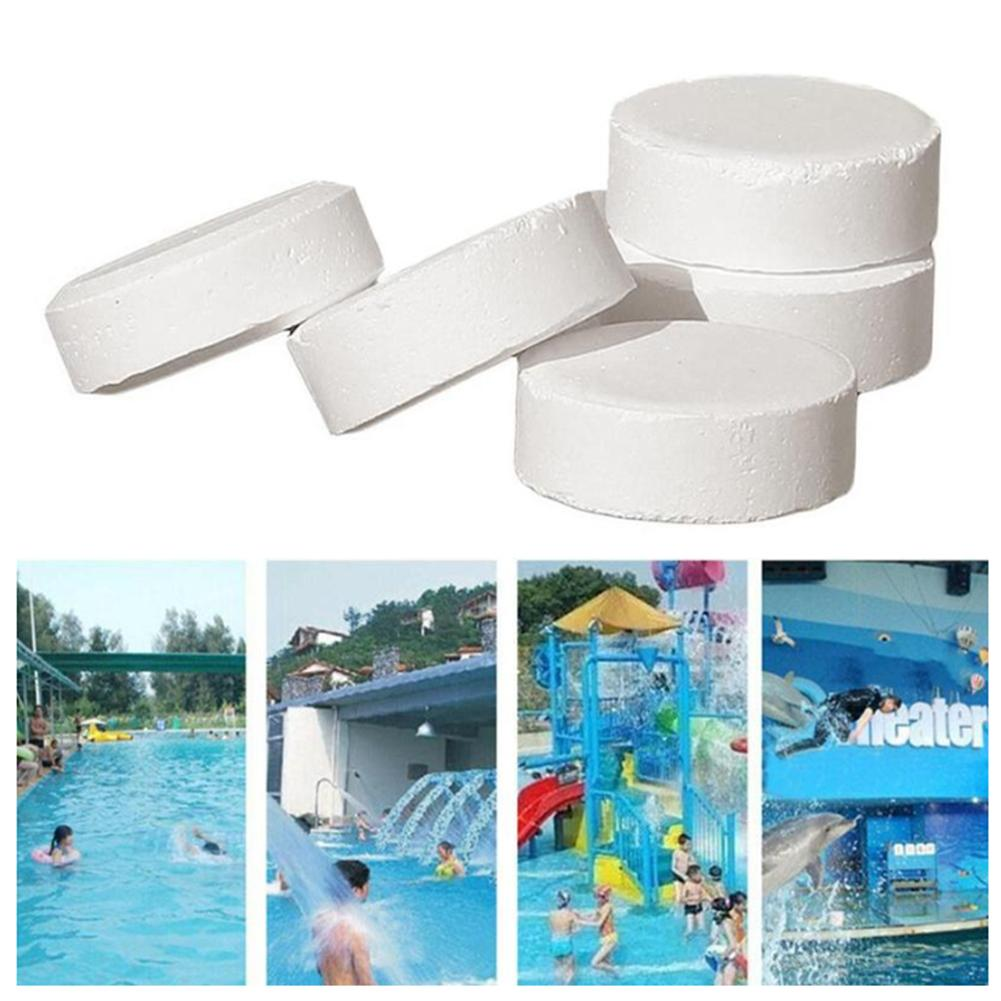 50 Pieces Of Swimming Pool Instant Disinfection Tablets Chlorine Dioxide Effervescent Tablets Disinfectant Chlorine(China)