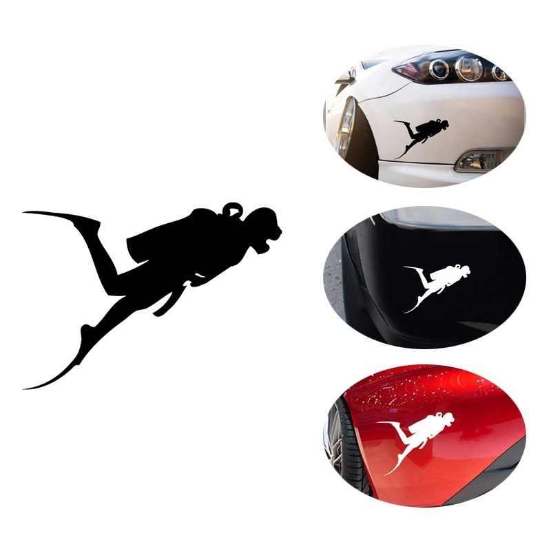 Stiker Diver Scuba Diving Snorkling Setelan Perahu, mobil, Trailer, truk 13x10