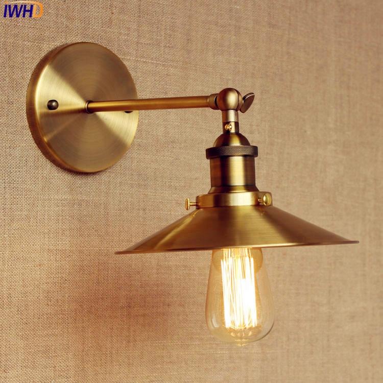 Edison Retro Vintage Wall Lamp LED Home Lighting Style Loft Industrial Wall Light Fixtures Sconce Applique Murale Arandela цена 2017