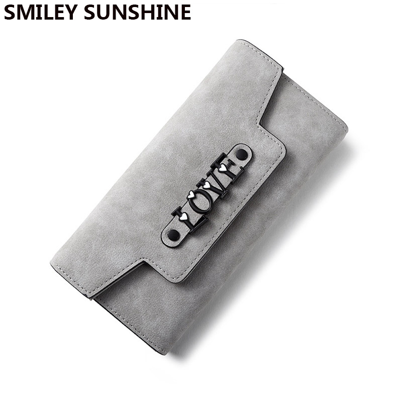 SMILEY SUNSHINE brand cute women wallets big clutch purses female dollar wallets and purses long card wallets ladies money bags(China (Mainland))