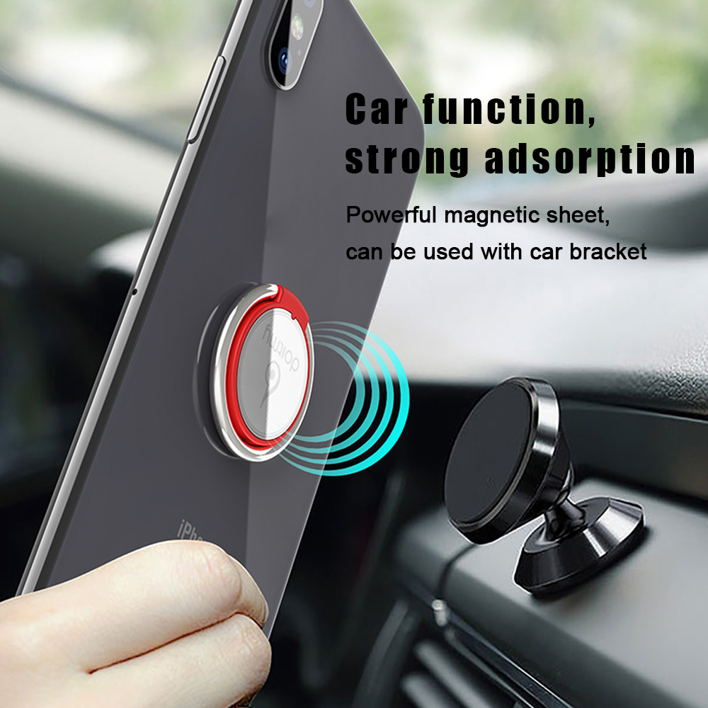 2019 New Universal <font><b>360</b></font> Degree Stand <font><b>Metal</b></font> Smart Mobile Phone <font><b>Holder</b></font> for Magnetic Car Mount <font><b>Finger</b></font> <font><b>Ring</b></font> Bracket for IPhone Xiaomi image
