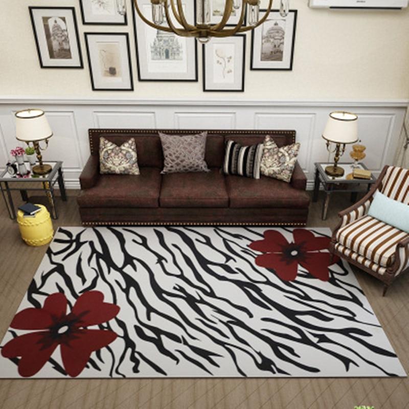 Carpets & Rugs Carpet Nordic Geometric 3d Carpet Bedside Antiskid Floor Mat Fashion Coffee Table Sofa Carpets For Living Room Home Large Area Rugs