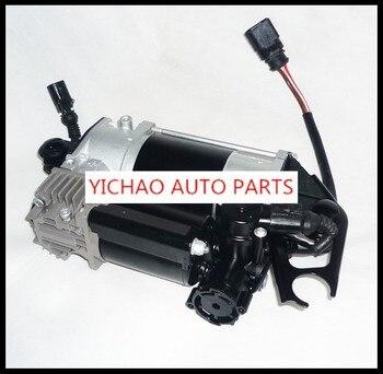 สร้างใหม่คอมเพรสเซอร์ air suspension fit สำหรับ Audi Q7 รถ 4L0698007 AIR RIDE ปั๊ม Pneumatic air ฤดูใบไม้ผลิ
