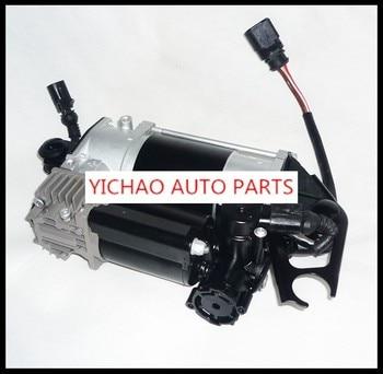 Membangun Kembali Ulang Kompresor Suspensi Udara Cocok untuk Audi Q7 Mobil 4L0698007 Air Ride Pump Pneumatic Air Spring