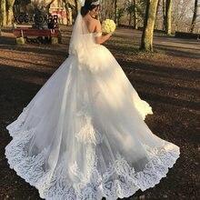 XGGandXRR Vestido de Noiva 2019 Wedding Dresses Ball Gown