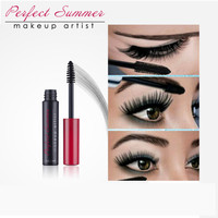 Perfect Summer New Black Eye Mascara Long Eyelash Brush Curving Lengthening Mascara Waterproof Makeup High Quality
