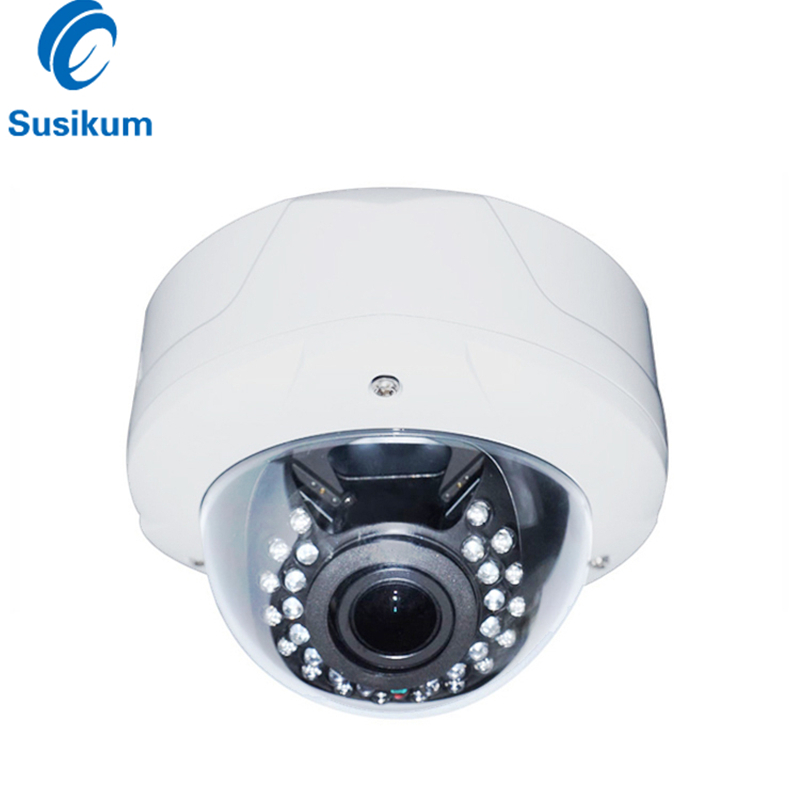 H.265 5MP Dome IP Camera 2.8-12mm Varifocal Lens IR 40M Night Vision Infrared Outdoor Surveillance Security Network Camera POE gwsecurity security dvr surveillance camera system with hard drive sony exview ccd 700tvl outdoor security camera built in 2 8 12mm varifocal zoom lens 115 ft ir day night vision