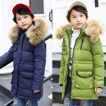 winter jackets boys snowsuit teenage boy coats warm white duck down children parkas fur russian winter jacket for teens clothes
