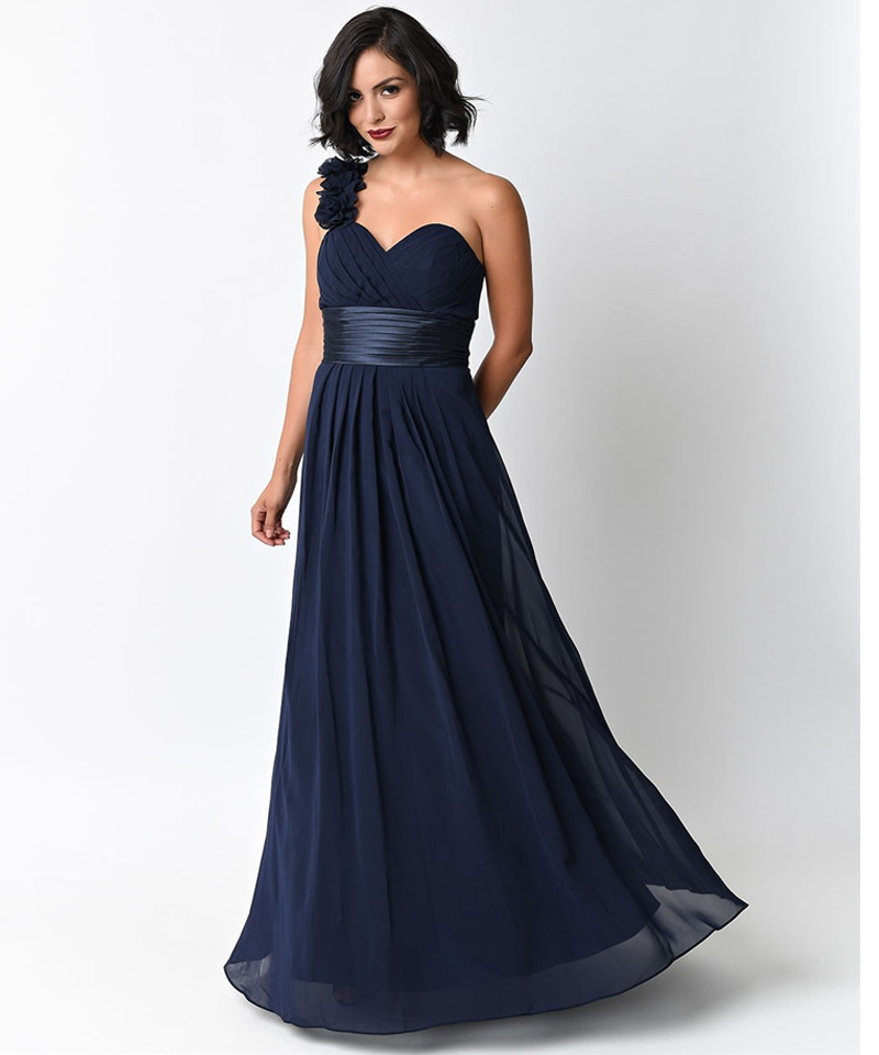 Navy Blue Cocktail Dress Under 100