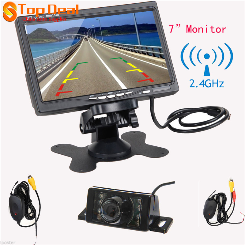 ФОТО Car Rear View Wireless Parking Kit With 7