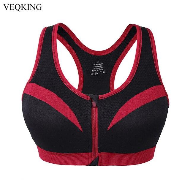 895feb604b00a VEQKING Women Shockproof Sports Bras