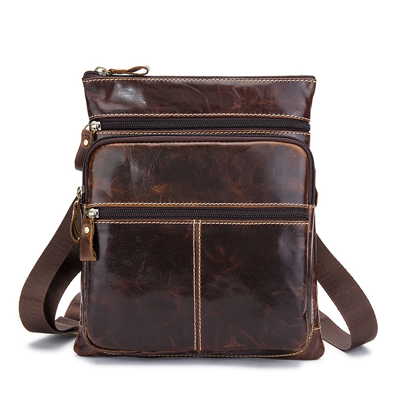 FSINNLV Fashion Genuine Leather Men Bag Cowhide Messenger Bag High Quality Male Shoulder Bags Travel Men's Crossbody Bag HB110 jason tutu promotions men shoulder bags leisure travel black small bag crossbody messenger bag men leather high quality b206