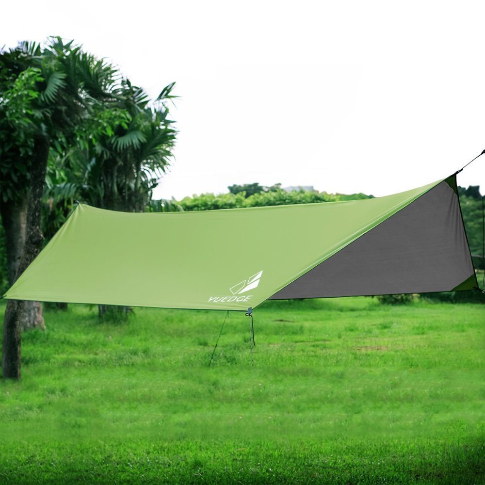 YUEDGE Ultralight Tarp Outdoor Camping Survival Sun Shelter Shade Awning Green Coating Pergola Waterproof Beach TentYUEDGE Ultralight Tarp Outdoor Camping Survival Sun Shelter Shade Awning Green Coating Pergola Waterproof Beach Tent