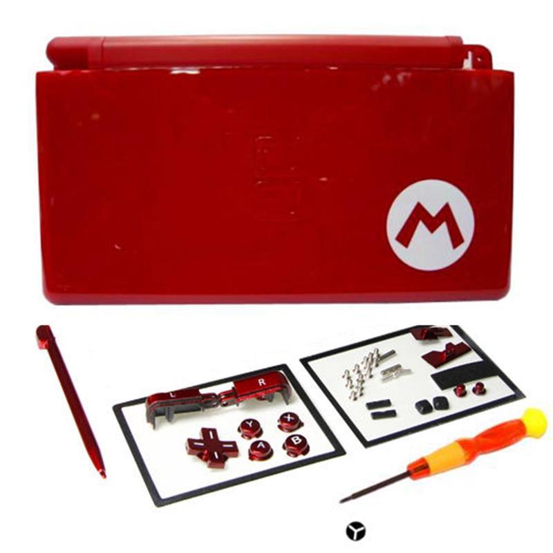 Voll Reparatur Teile Ersatz Gehäuse Shell Fall Kit mit Schraubendreher für Nintendo DS Lite NDSL