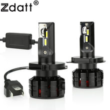 Zdatt Car Led Light H4 H1 H7 Led Bulb H8 H9 H11 9005 HB3 9006 HB4 Headlights Canbus 100W 12000LM 12V 6000K Automobiles Auto Lamp(China)