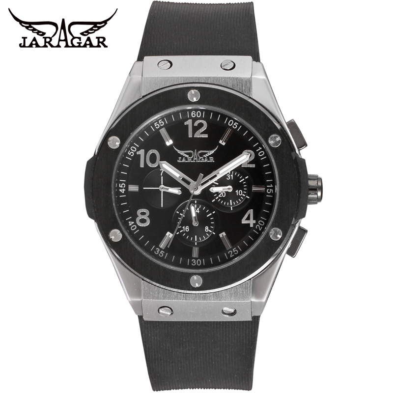 Automatic Watch Men s famous luxury brand Automatic Mechanical watch big dial Relogio masculino military sports