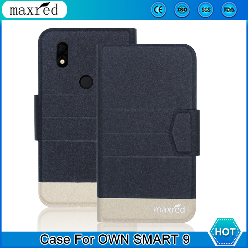 5 Colors ! OWN SMART 9 Case 2019 High Quality Flip Ultra-thin Luxury Leather Protective For Cover Phone