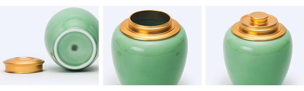 longquan plum green tea tin 2