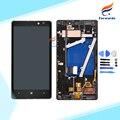 100% Новый Испытано Черный для Nokia Lumia 930 ЖК-Экран с Сенсорный Дигитайзер + Рамка + Инструменты 1 шт. бесплатная доставка