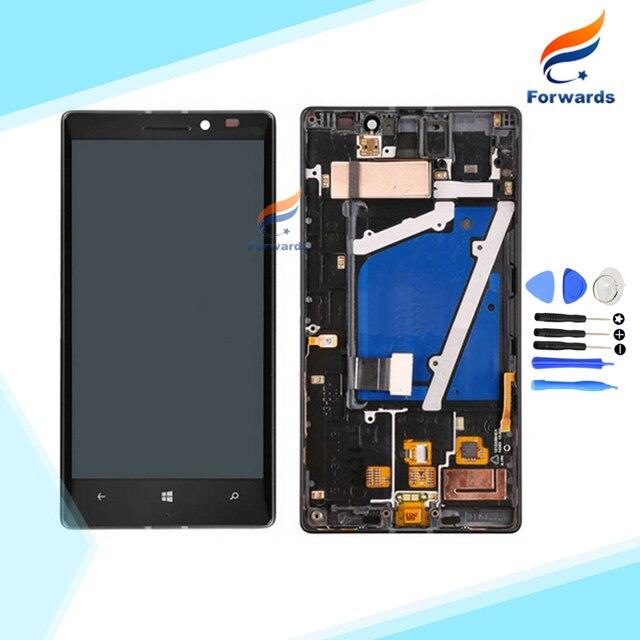 100% novo testado tela lcd preto para nokia lumia 930 com Toque Digitador + montagem do Quadro + Ferramentas 1 peça livre grátis