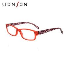 LianSan 2017 New Fashion Vintage Anti-reflective Lightweight Reading Glasses Women Men Retro Luxury Brand Designer L3710