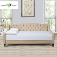 Jennifer Taylor Home Sofa Bed Hand Tufted Hand Painted And Hand Rub Finished Wooden Legs 65000