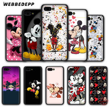 WEBBEDEPP Beauty Beast Kissing Mickey Minnie Mouse Soft Case for Honor 20 10 9 9X 8 Lite 8C 8X 7X 7C 7A 3GB 6A Pro View 20(China)