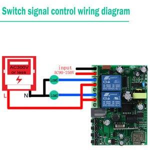 Image 5 - KTNNKG 433 MHz 10A Wifi commutateur 2 canaux relais modules domotique récepteur sans fil et Ev5127 433 MHz RF télécommandes