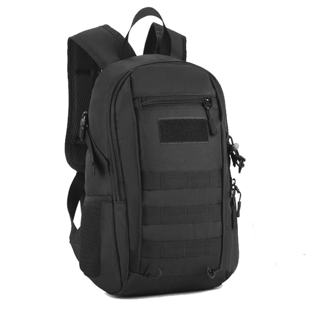 12L Mini Daypack Military MOLLE Backpack Rucksack Gear Tactical Assault Pack Student School Bag for Hunting Camping Trekking