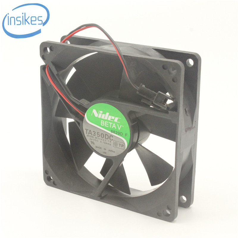 TA350DC M33423-16 9025 DC 24 V 0.19A Ganda Bola Inverter Mesin Las Kipas Pendingin 90 * 90 * 25mm Blower Brushless Fan