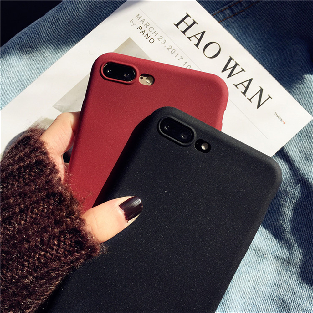Matte Sandstone Silicone Phone Case For Oneplus Soft Frosted Skin Cover Coque Protection 4