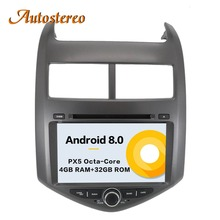 Android 8 Car GPS Navigation car DVD player Multimedia For Chevrolet Chevy Aveo Sonic 2011