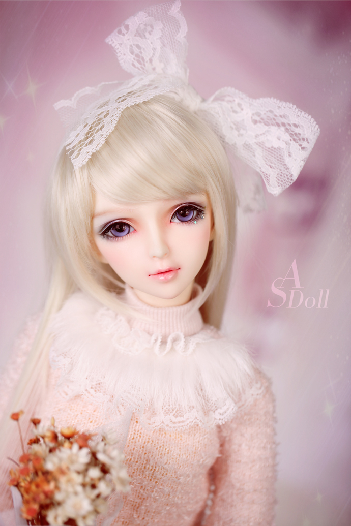bjd accessories original 1/3 bjd female clothes AS sweet sweater twin set Bjd doll as clothing female doll costume clothes fashion sweater for bjd 1 3 1 4 uncle doll clothes accessories 4 colors