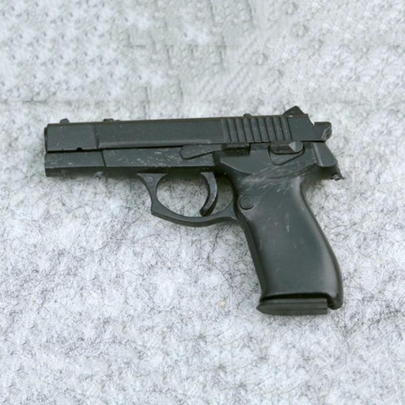 1:6 Scale 4D Assembling Pistol Gun Weapon Model Soldier Weapon Model For 12