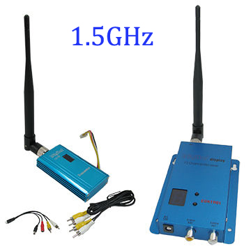 3000m Range FPV Sender 1.4G/1.5G/1.6G Drone Video Transmitter 1.5Ghz 12 Channels Wireless Video Transmission System