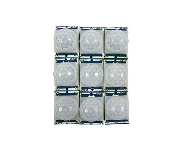 6pcs/lot pyroelectric infrared sensor HC-SR501 pir motion sensor module for arduino