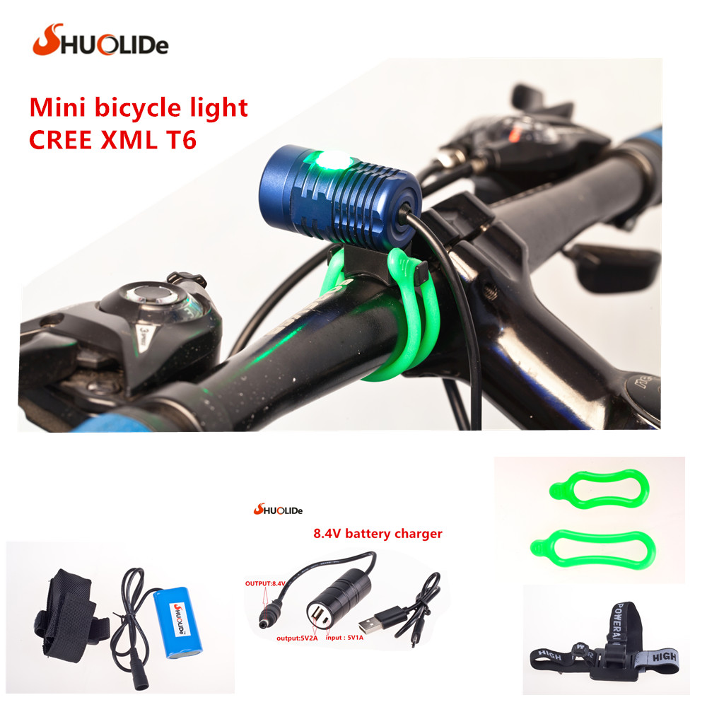 New Mini CREE XML2 T6 headlamp headlight Bicycle Light headlight 18650 head lamp lampe bike light waterproof 2000 lumen led cree xml2 u2 led cycling bicycle bike usb 18650 light lamp headlight headlamp headlight strips charger